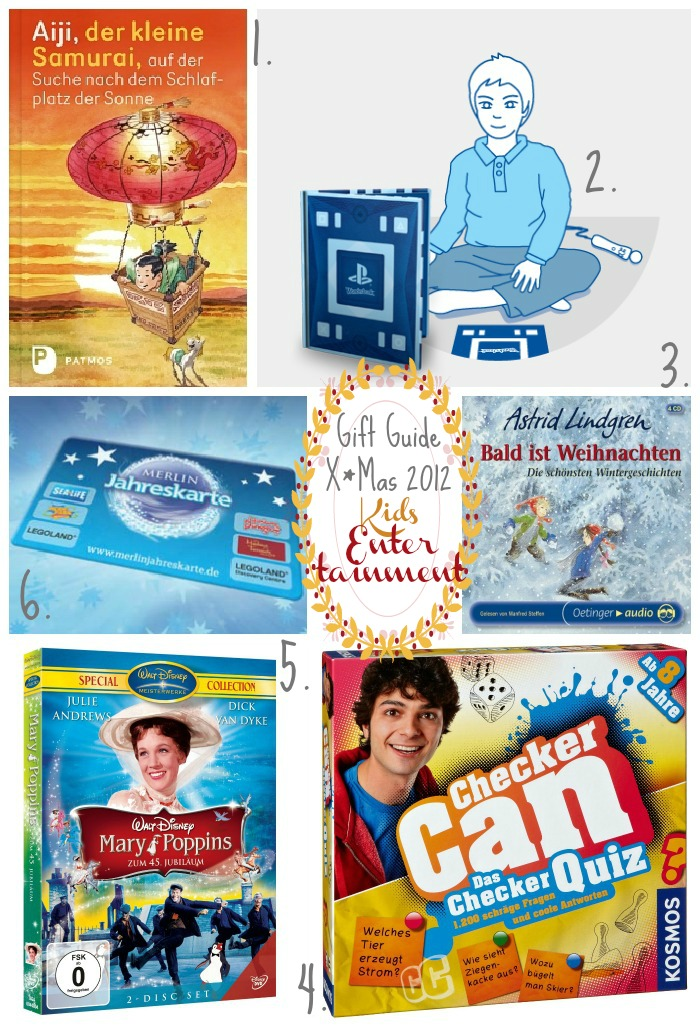 Gift Guide X*mas 2012 : Kids Entertainment