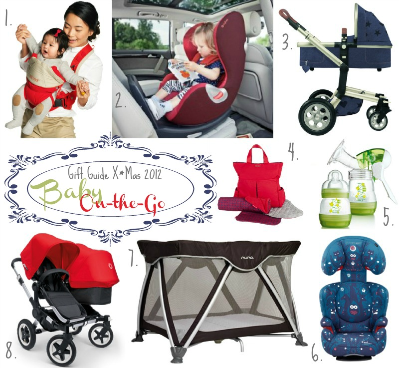 Gift Guide X*Mas 2012 : Baby On-the-Go