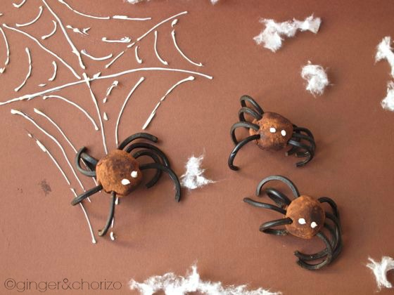 Food Friday : 'Spider Truffles' for Halloween