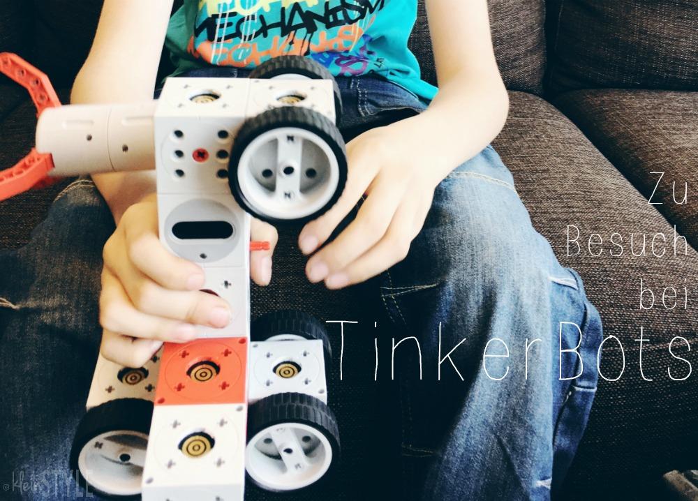 (Deutsch) Robotik-Baukomponenten mit Powerbrain : TinkerBots