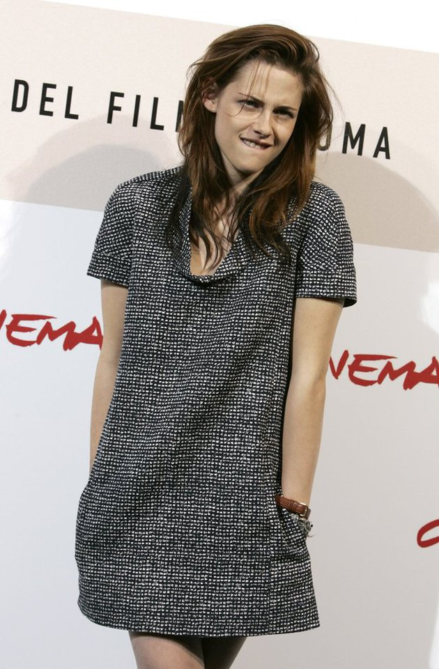 Kumpulan Foto Twilight Saat menghadiri Rome International Film Festival 2008 Kristen membuat x