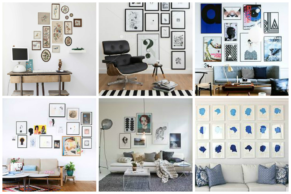 Fullsize Of Gallery Wall Layout