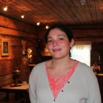 Baranov Museum Curator of Collections & Exhibits, Alana Blumenthal. Photo courtesy of Baranov Museum