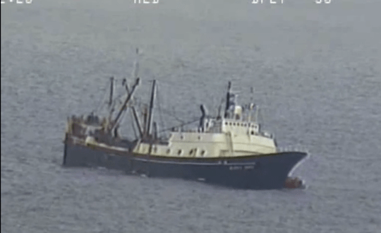Troubled Factory Trawler Takes On Water, Abandoned in Aleutians