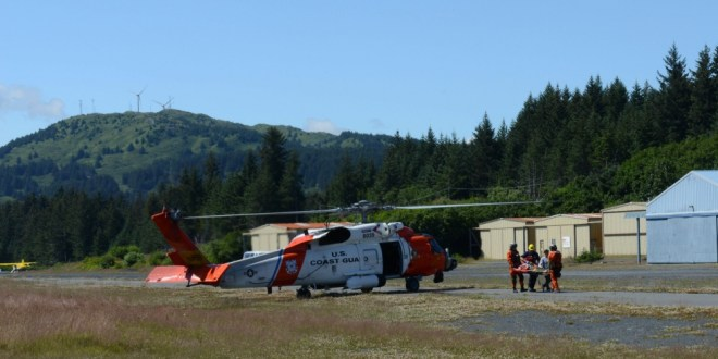 Coast Guard Medevacs ATV Driver