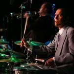 Kurt Sodergren at drums. Photo Courtesy of Big Bad Voodoo Daddy