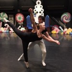 Lydia Stanford and Nic Gili rehearsing. Kayla Desroches/KMXT