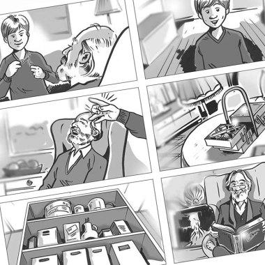 Storyboard-Zeichner