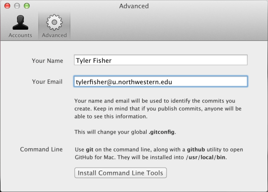 install command line tools