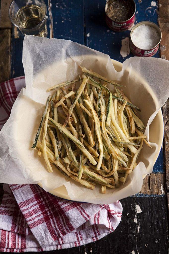 zucchini fries: Pin Ups, knittedbliss.com