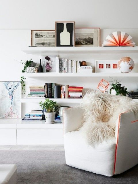 Pin Ups: Gorgeous Bookshelves  knittedbliss.com