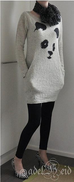 Modification Monday: Still Panda   knittedbliss.com