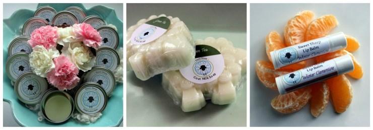 Meet the Sponsors: Sweet Sheep Body Shoppe | knittedbliss.com