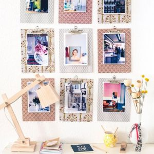 Pin Ups and Link Love: Seven photo display ideas | knittedbliss.com