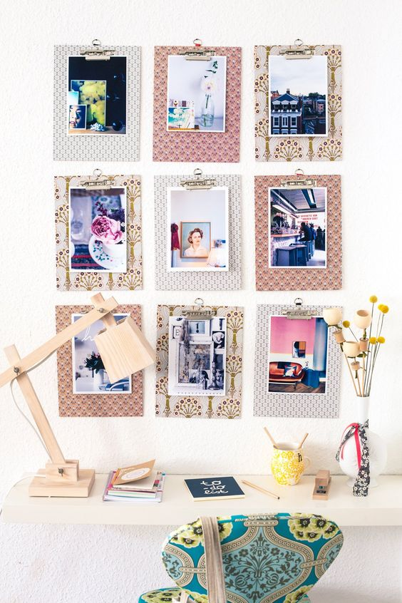 Pin Ups and Link Love: Seven photo display ideas   knittedbliss.com