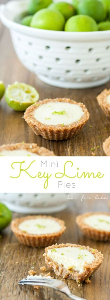 Pin Ups and Link Love: Mini Key Lime Pies | knittedbliss.com