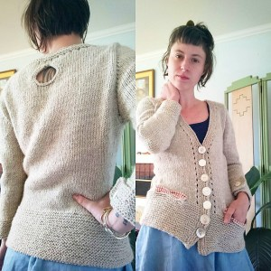 Modification Monday: Myrna | knittedbliss.com