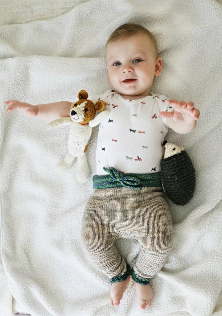 Finished Knit: Rocky Joggers | knittedbliss.com