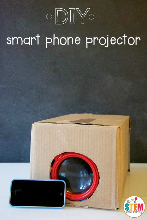 Pin Ups and Link Love: DIY Smartphone Proector| knittedbliss.com