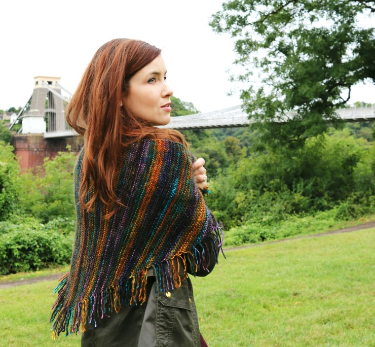 Finished Knit: Kveta Shawl | knittedbliss.com