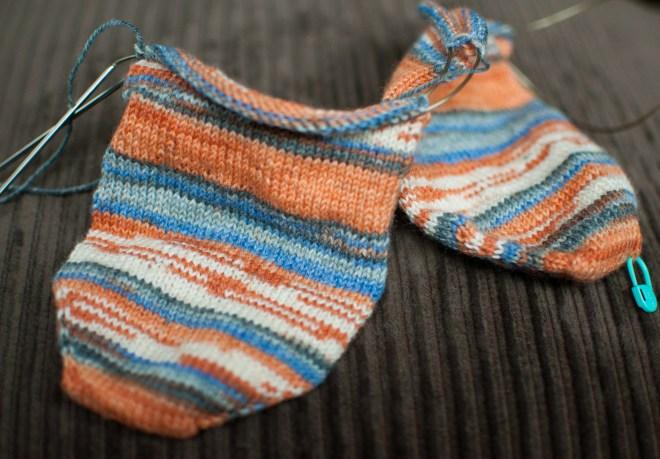 matt opal socks