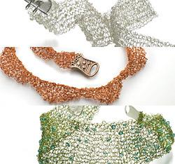 Knit Kits Wire Jewelry Patterns   Knitting