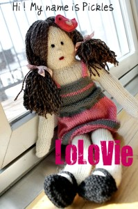 Free Pattern   Adorable Doll!   Knitting