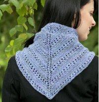 cascade 220 shawlette