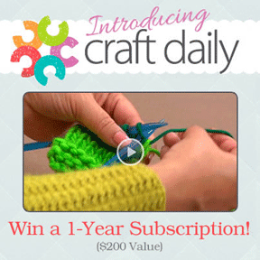 craft daily giveaway