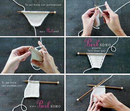 purl soho knitting videos