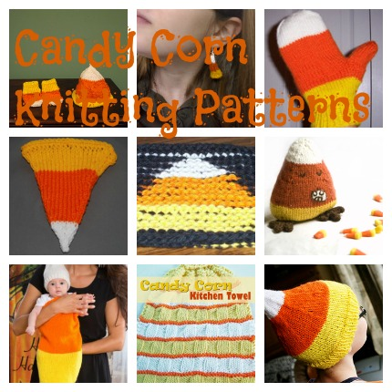 candy corn knitting patterns
