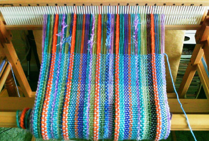 weaving stripes