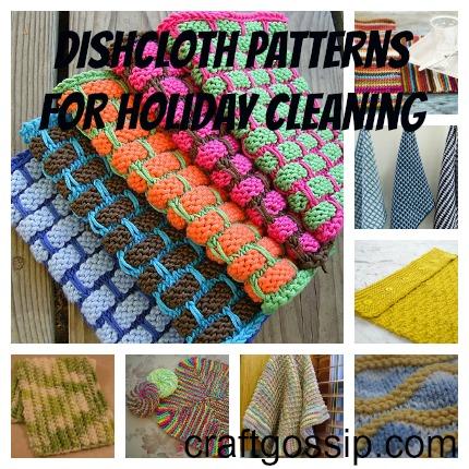 Knitting Pattern Central Christmas : FREE KNITTING PATTERNS FOR HOLIDAY DISHCLOTHS   KNITTING ...