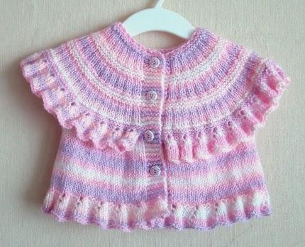 ruffled baby vest