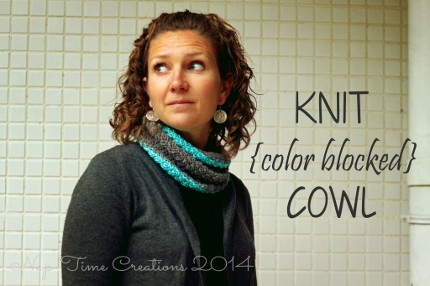 color block cowl