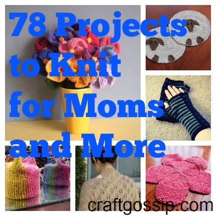 spring gift knitting