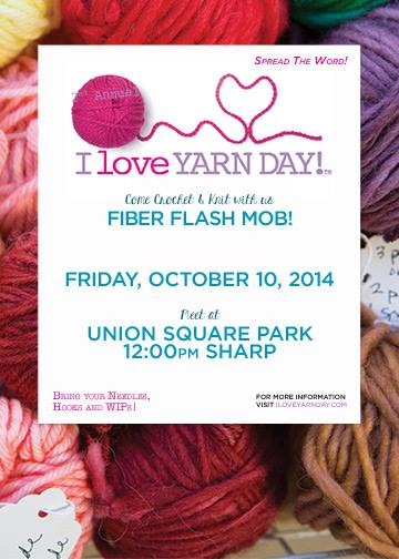 Are you celebrating I Love Yarn Day?