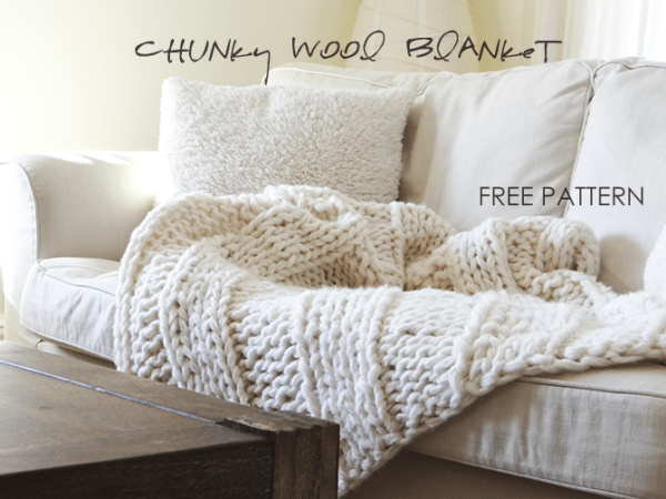 Chunky Wool Throw Knitting Pattern : 6 Knitted Throw Patterns   Knitting