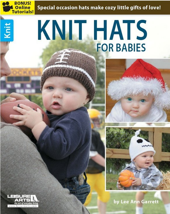 Knit Hats for Babies by Lee Ann Garrett book review.