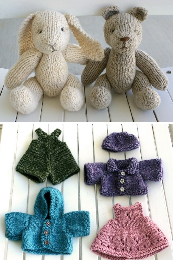 Free Knitting Patterns For Beginners Toys : 7 Knitting Patterns for Baby   Knitting