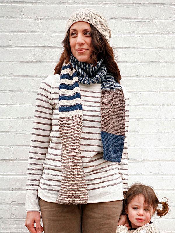 safarian knit scarf