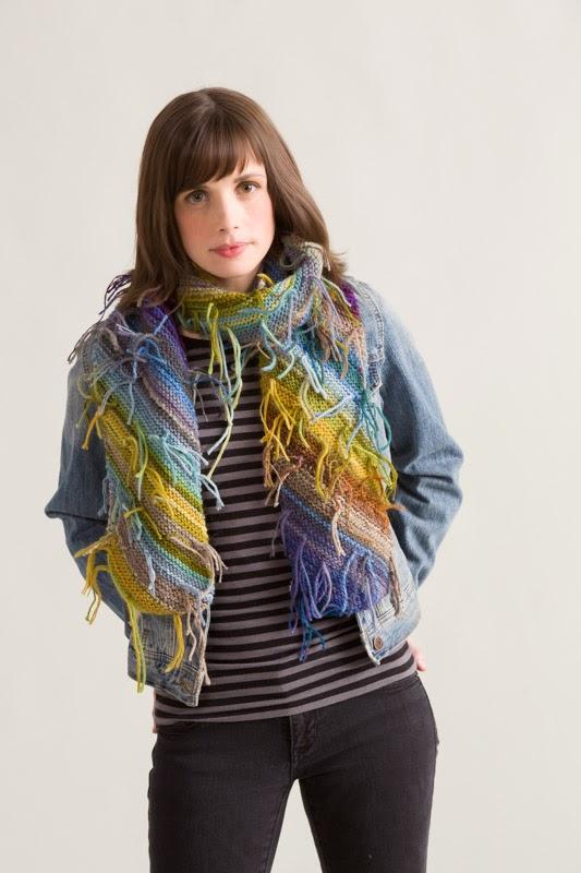 magic ball scarf knitting