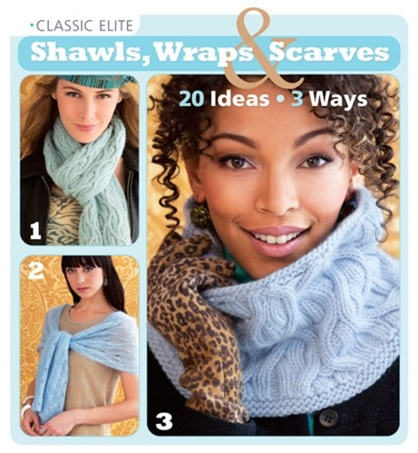 classic elite shawls wraps and scarves