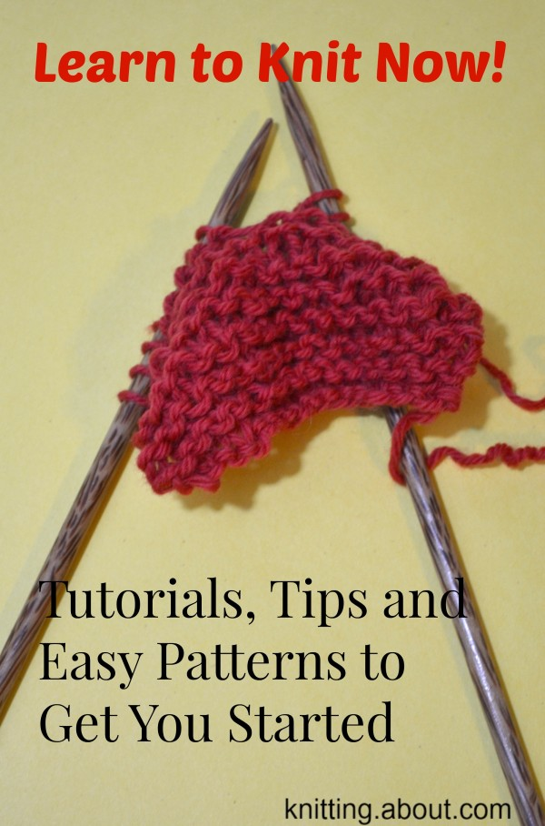 Knitting Tips : learn to knit now with great tutorials and tips