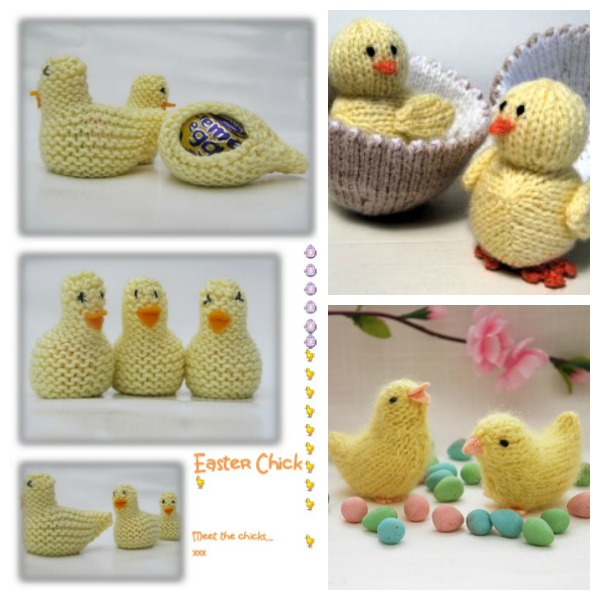 Knitted Chick Egg Cosy Pattern : Eggs, Cozies and Chicks to Knit for Easter   Knitting