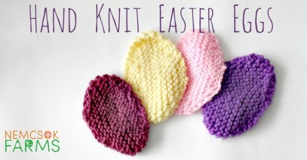 stash busting easter egg knitting pattern