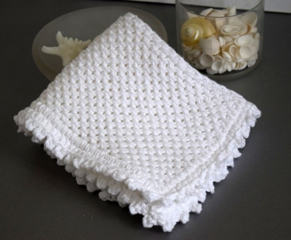 chinese wave washcloth