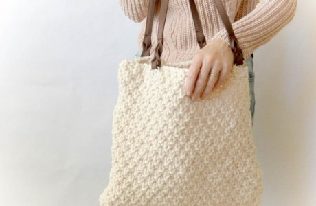 Knit a Big, Bulky Bag to Hold More Knitting