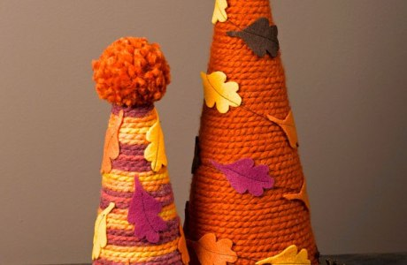 Easy No-Knit Yarn Crafts for Fall