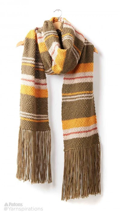 Knit a Super Scarf for fall and winter
